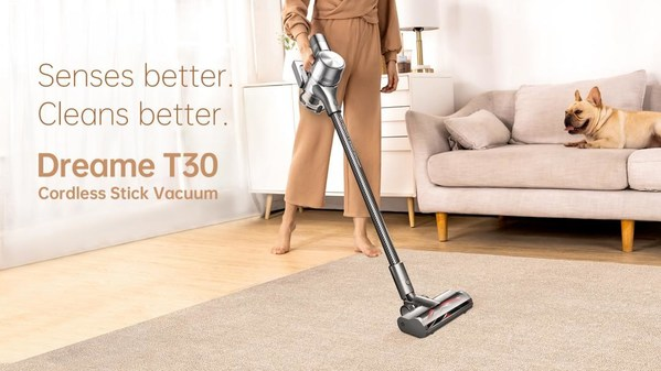 Dreame T30 Cordless stick Vacuum to Debut in Europe via AliExpress