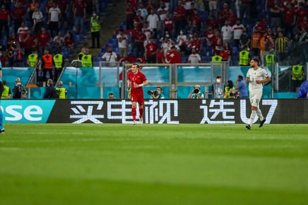 Penaja UEFA EURO 2020 Hisense Papar Hisense U7 TV di Perlawanan