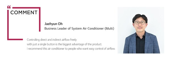Oh Jaehyun, Business Leader of System Air Conditioner (Multi)
