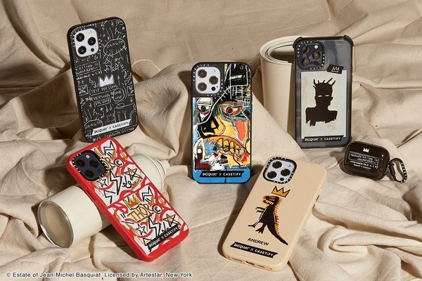 CASETiFY Taps the Work of Jean-Michel Basquiat for a New Tech Capsule