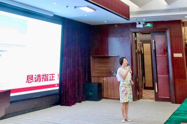 李锦记中国企业事务总监陈姝介绍李锦记蚝油技艺的传承与发展