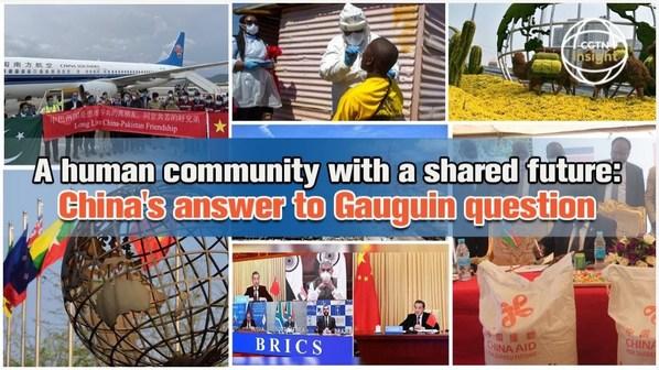 CGTN: จีนเสนอให้ทั่วโลกสร้างชุมชนที่มีอนาคตร่วมกันเพื่อมวลมนุษยชาติ