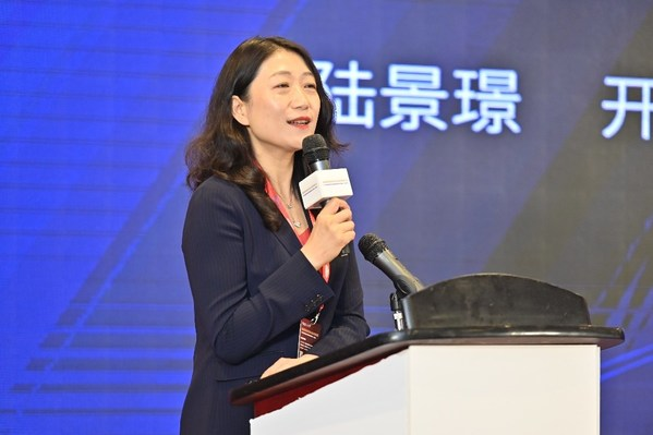 开利运输冷冻亚太区董事总经理陆景璟女士致辞