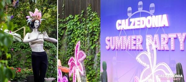 意大利时尚裤袜品牌CALZEDONIA 举办2021年夏日派对