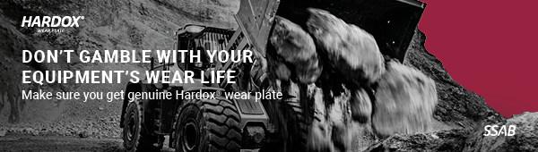 Bảo vệ an toàn cho cá nhân và hiệu suất với tấm chịu mài mòn Hardox(R) chính hãng