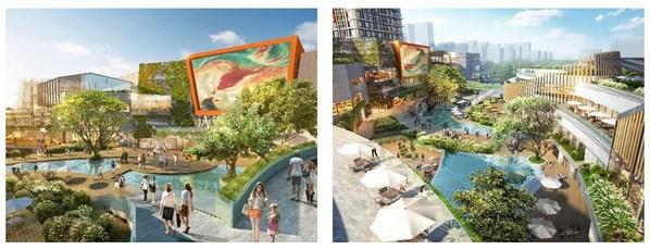 JERDE: Powerlong Zhuji Plaza, Zhuji, Zhejiang (Opening June 2021)
