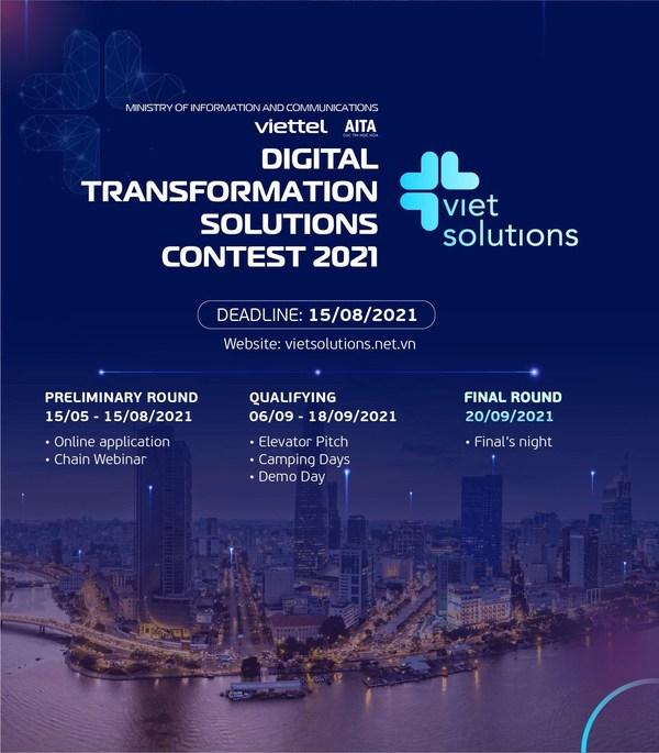 Viettel开启第二季Viet Solutions报名工作,Viet Solutions是一项数字产品/解决方案大赛