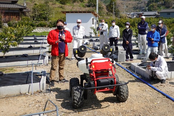XAG R150 ground robot debuts to help Japanese farmers overcome aging