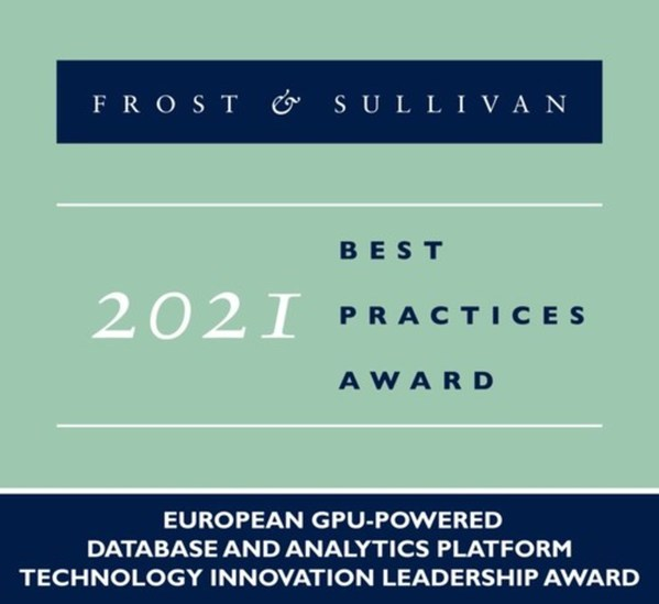 Brytlyt Lauded by Frost & Sullivan for Building BrytlytDB, a GPU-powered Analytics Platform that Is Transforming the Way Companies Leverage Data
