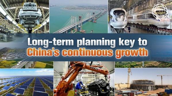 CGTN: Perencanaan jangka panjang menjadi kunci sukses dalam pertumbuhan berkelanjutan Tiongkok