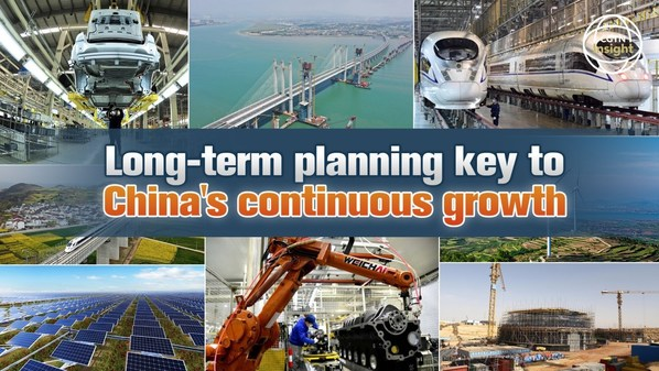 CGTN: Long-term planning key to China's continuous growth