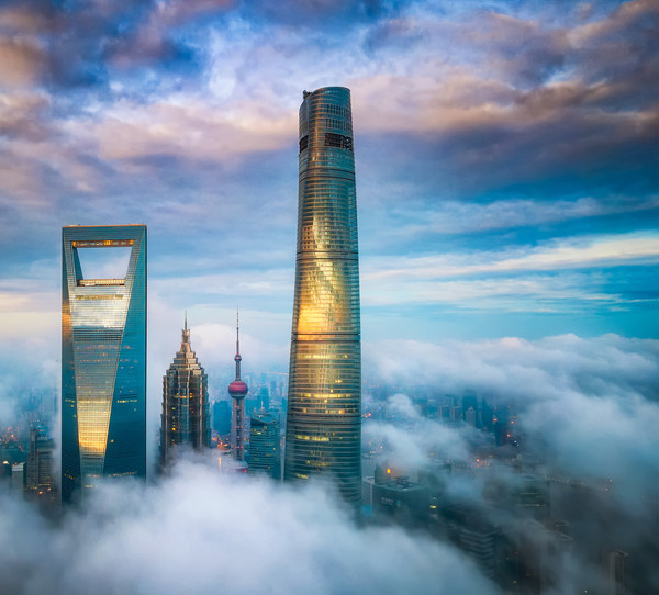 雲の中に育まれたアート:上海の超高層ビルにJ Hotel Shanghai Towerデビュー