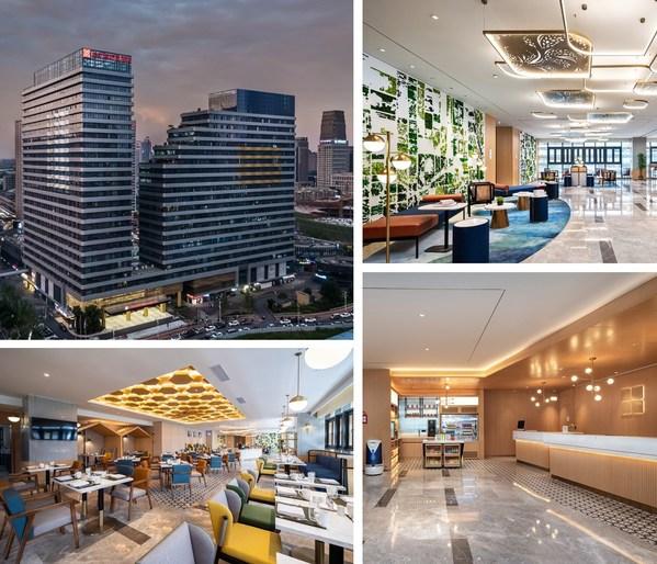 全新版希尔顿花园酒店亮相洪城金融中心地段
