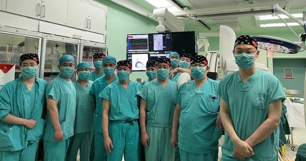 唯强医疗WeFlow-Arch主动脉弓覆膜支架系统中国注册临床试验顺利完成首例入组
