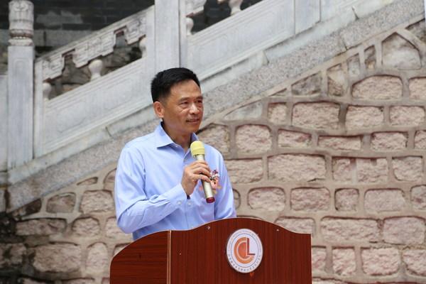 加拿大木业执行总裁黄华力先生致辞