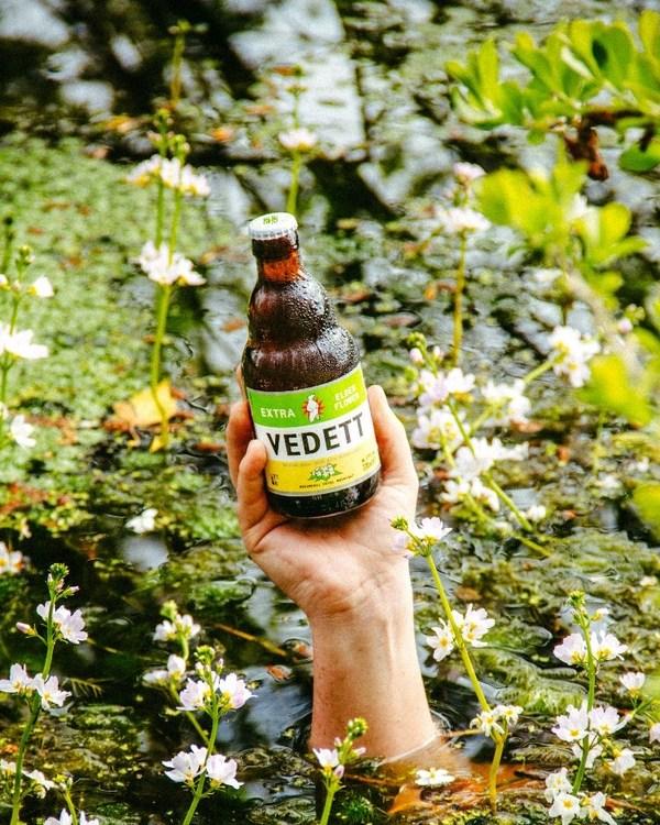 比利时 VEDETT推出清爽白熊接骨木花啤酒