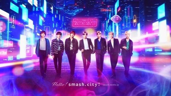 Smash.에서만 볼 수 있는 방탄소년단오리지널 콘텐츠 6월 18일 공개!