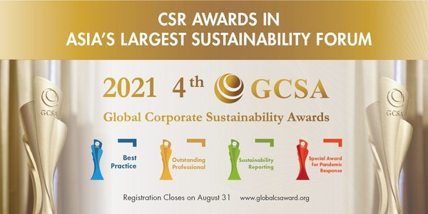 Anugerah Kelestarian Korporat Global (GCSA) dilancar untuk 2021