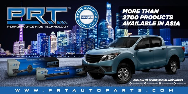 PRT Introduces over 2,700 OEM Quality Products in Southeast Asia