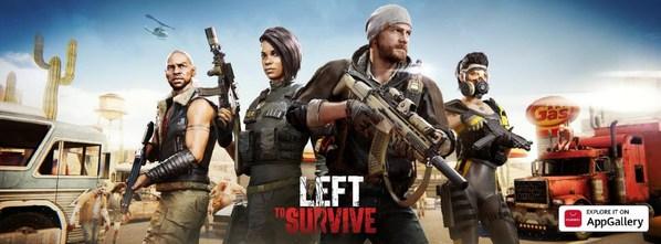 「Left to Survive」がAppGalleryに到着-ファーウェイと提携し、大規模なプロモーションも