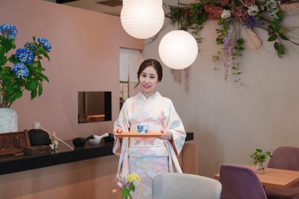 Reika Yasuhara, owner of Japanese 'wagashi' confectionary DAISANMANENDOU HANARE