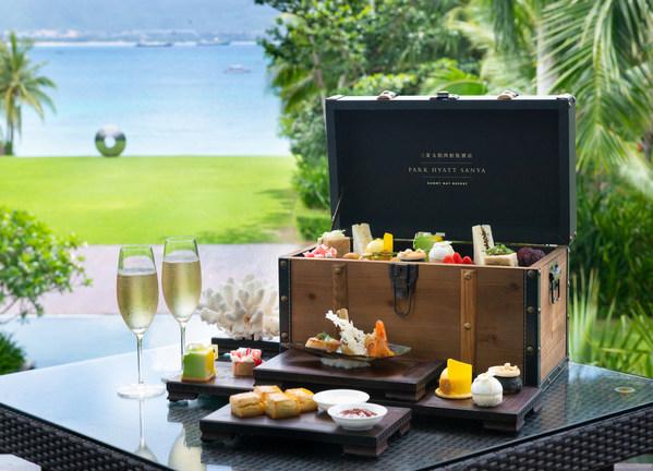 夏满 - 觅寻下午茶于三亚太阳湾柏悦酒店观景台全新亮相