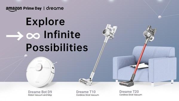 Dreame TechnologyがAmazonプライムデー2021に参加