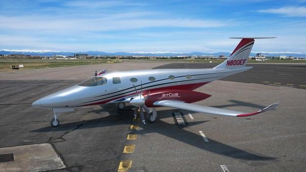 JetClub 'terbang' ke arah masa depan yang lestari dengan pesawat elektrik 'eFlyer 800' Bye Aerospace