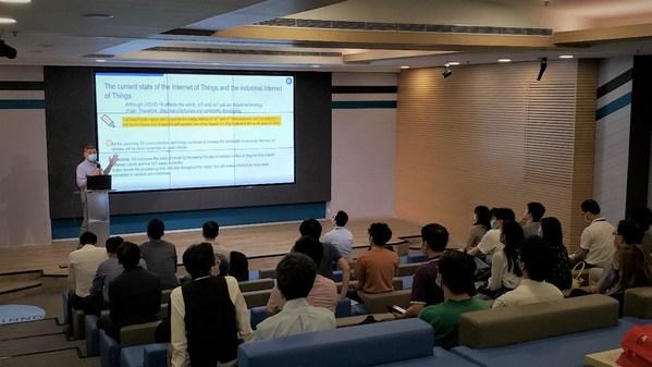 TUV南德发言香港智能生活论坛,助力构建工业物联网安全生态