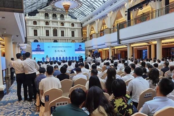 浙川深化东西部协作与交流,颐高与泸州市签约数字经济创新园项目
