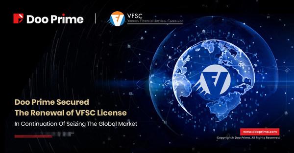 Doo Prime đảm bảo gia hạn giấy phép VFSC để không ngừng nắm bắt thị trường toàn cầu