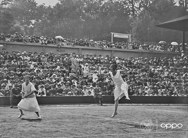 Suzanne Lenglen (Photo: L. Blandford/Topical Press Agency/Getty Images) Fashion pioneer Suzanne Lenglen is pictured alongside Elizabeth Ryan; one of the earliest images to surface portraying female tennis players athletically. Through her passion, Lenglen became a female icon before her time and is brought to life for the first time in full colour, as part of OPPO's Courting the Colour campaign. Launched today to celebrate the return of Wimbledon, the collection restores the emotion of seven iconic moments from tennis history, bringing the excitement and passion back to the sport for fans around the world. View the collection, here: https://events.oppo.com/en/oppo-and-tennis/#awakencolour