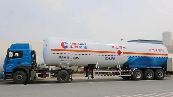 LNG低温液体运输车