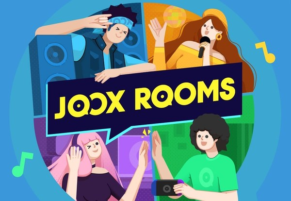 JOOX, Asia's most dedicated music and entertainment streaming platform, presents JOOX ROOMS – an interactive feature that will definitely hype up JOOX users' leisure time chatting with friends and sharing the music that they love.