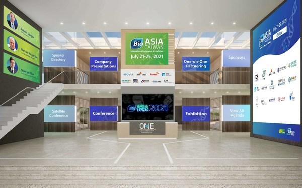 BIO Asia-Taiwan 2021 Virtual Lobby Preview