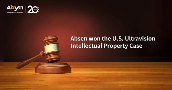 Absen được xử thắng kiện trong cáo buộc về Quyền Sở hữu trí tuệ bởi Công ty Ultravision của Hoa Kỳ