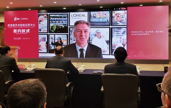 欧莱雅集团首席运营官Antoine Vanlaeys先生视频发言