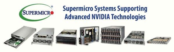 Supermicroが最新のNVIDIA A100 80GB PCIe GPU搭載の最適化されたサーバーによりHPCおよびAIアプリケーションのパフォーマンスを大幅増強