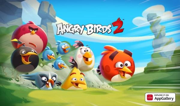 《愤怒的小鸟2》在AppGallery上架