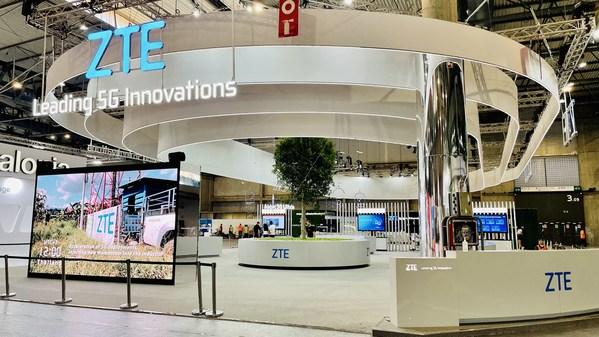ZTE, MWC 2021 참가