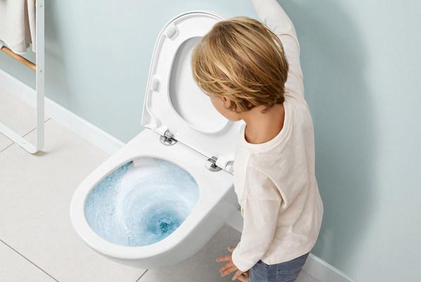 德国唯宝创新的强劲座厕冲水系统 -- 双旋冲水-TwistFlush