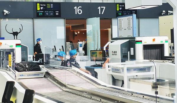 同方威视安检设备在成都天府国际机场投入使用