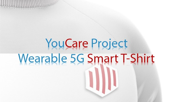 YouCare is born: the T-shirt that saves lives using 5G is now a reality