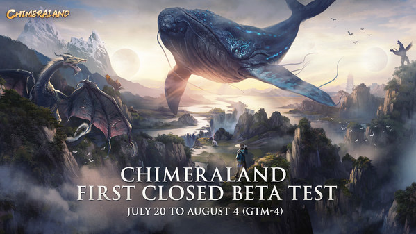 Chimeraland, a New Game is Looking for Players to Join its First Closed Beta Test in Canada and the Philippines