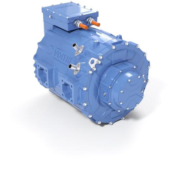 福伊特电驱动系统:全新中型商用车电驱动系统正式发布