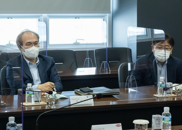 Korea National Institute of Health (KNIH) conducts field inspection of companies with mRNA technology