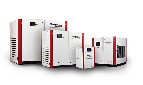 Ingersoll Rand Launches the New GDK Series of Rotary Screw Compressors