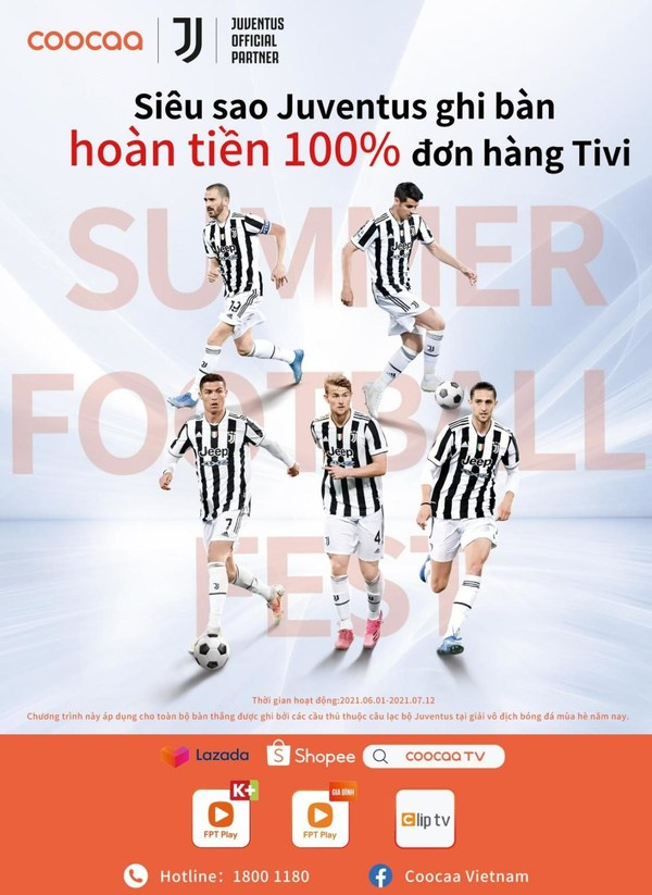 coocaa TV Celebrates Summer Football Season with Special Offer for Fans