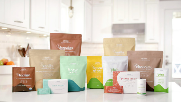 USANA proudly launches its new Active Nutrition line in Australia and New Zealand