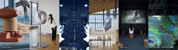 六位藝術家的作品在東京郵輪碼頭展出